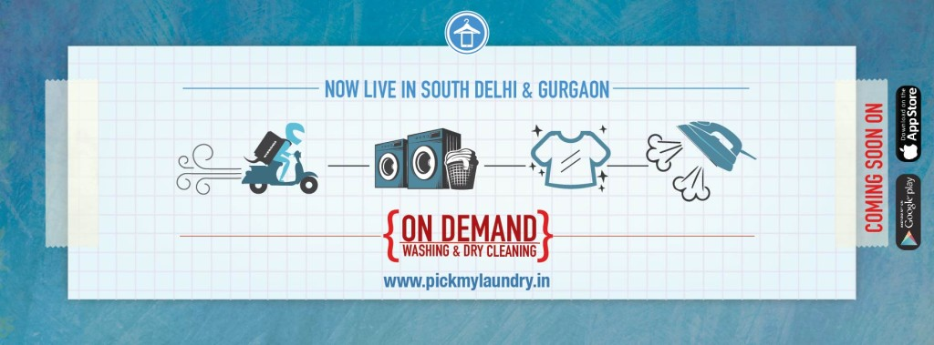 Pickmylaundry is here